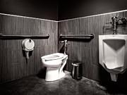 The Mens Room Print by Bob Orsillo