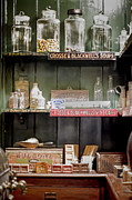 Medicines Photos - The Mercantile by Heather Applegate