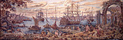 Military Tapestries - Textiles Prints - The Merchant Of Venice Print by Ricky Nathaniel