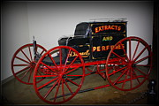 Carriages Posters - The Merchants Stage Coach ca. 1800s Poster by Dora Sofia Caputo