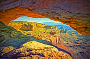 Mesa Arch Posters - The Mesa Arch Poster by Tara Turner