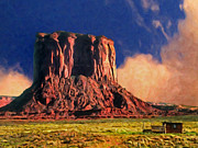 Dominic Piperata - The Mesa at Sunrise