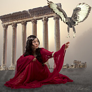 Photo=manipulation Posters - The Message Bearer Poster by Linda Lees