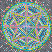 Religious Artist Art - The Middle Path by Louise Lowry
