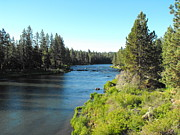 Deschutes River Prints - The Mighty Deschutes River Print by Michael Bidwell