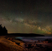 Brent L Ander Acrylic Prints - The Milky Way over Sand Beach 4159 Acrylic Print by Brent L Ander