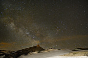 M16 Posters - the Milky Way Sagittarius and Antares over the Sierra Nevada National Park Poster by Guido Montanes Castillo
