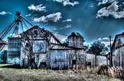 Feed Mill Framed Prints - The Mill Framed Print by Mark Lindsey