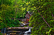 Grist Mill Digital Art - The Mill paint 2 by Steve Harrington