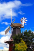 Windmill Framed Prints - The Mill  Framed Print by Stefan Kuhn