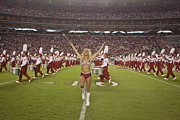 Crimson Tide Photo Prints - The Million Dollar Marching Band of the University of Alabama Print by Carol M Highsmith