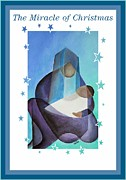 Mother Mary Digital Art - The Miracle Of Christmas  by Tracey Harrington-Simpson