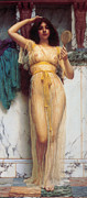 John Digital Art - The Mirror Image by John Williams Godward