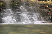 Jason Politte Prints - The Mist of Cornelius Falls - Heber Springs Arkansas Print by Jason Politte
