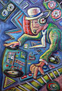 Electronic Paintings - The MixMaster by Jason Gluskin