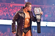 Wrestlemania Framed Prints - The Miz - WWE Champion Framed Print by Wrestling Photos