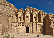 Petra Originals - The Monastery El Deir or Al Deir by Juergen Ritterbach