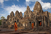 Pete Reynolds - The monks of Bayon