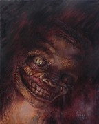 Nightmares Paintings - The Monster by Nick Rose