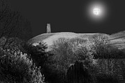 Tor Framed Prints - The Moonlit Tor Framed Print by Phil  Gough