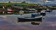 River Tees Prints - The Moorings Print by Trevor Kersley