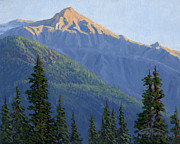 Original Oil Paintings - The Morning Edge by Randy Follis