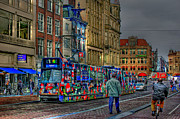 Amsterdam Digital Art - The Morning Rhythm by Ron Shoshani