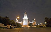 Moscow Photos - The Moscow State University by Viacheslav Savitskiy