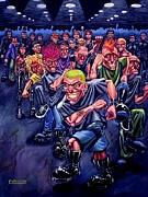 Alternative Paintings - The Mosh Pit by Lance Vaughn