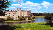 Most Photo Posters - The Most Romantic Castle in England Poster by MaryJane Armstrong