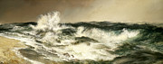 Thomas Moran - The Much Resounding Sea by Thomas Moran