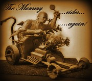 Art In Halifax Digital Art - The Mummy Rides in Halifax by John Malone
