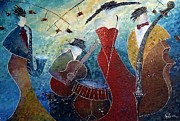 Amalia Suruceanu Art - The Music Never Stopped 2