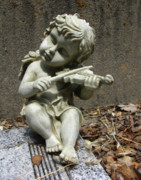 Cupid Photos - The Musician 03 by Peter Piatt