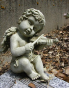 Cupid Photos - The Musician 04 by Peter Piatt