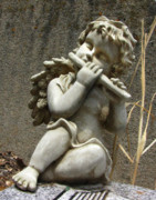 Headstone Photos - The Musician 05 by Peter Piatt