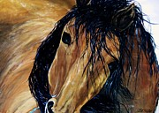 Mustang Paintings - The Mustang by Lil Taylor