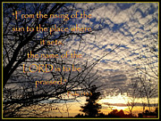 Psalms Posters - The Name Of The Lord Poster by Glenn McCarthy Art and Photography