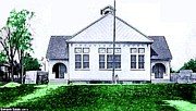 Schoolhouses Framed Prints - The National Museum Of Architecture In Sloansville N Y In 1905 Framed Print by Dwight Goss