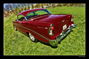 Blake Richards Framed Prints - The Navato 55 Chevy Framed Print by Blake Richards