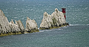 Framed Prints Photos - The Needles by Steven Brennan