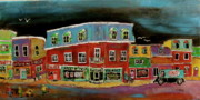 Litvack Naive Art - The Neighbourhood  by Michael Litvack