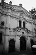 Kazimierz Art - The Neo Romanesque Tempel Synagogue Krakow by Joe Fox