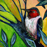 Woodpecker Art - The NeverEnding Story No 124 by Jennifer Lommers