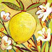 Lemon Paintings - The NeverEnding Story No 2b by Jennifer Lommers