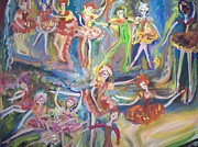 Ballet Dancers Paintings - The new Ballet by Judith Desrosiers