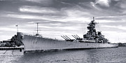 Battleship Photos - The New Jersey by Olivier Le Queinec