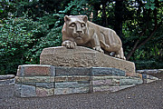 Pennsylvania State University Prints - The New Lion Print by Gallery Three