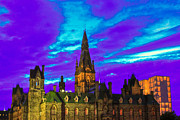 Ottawa Digital Art - The night of the thousand spells by Eti Reid