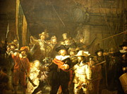 Nightwatch Posters - The Night Watch Poster by Rembrandt